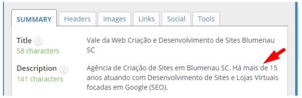 seo meta in 1 click valedaweb description